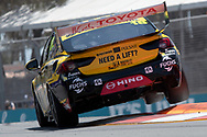 Lee Holdsworth in the Preston Hire Racing Holden Commodore during Friday practice at The 2018 Vodafone Supercar Gold Coast 600 in Queensland.