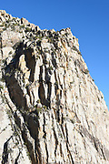 San Jacinto Mountains Granite Wall