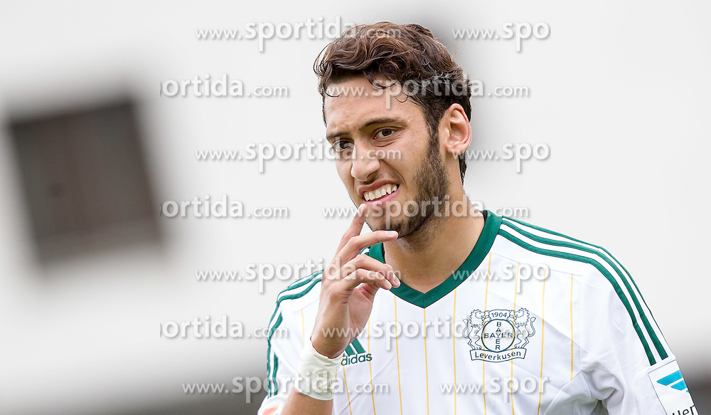 22.07.2014, Alois Latini Stadion, Zell am See, AUT, Testspiel, Bayer 04 Leverkusen vs Lokomotive Moskau, im Bild Hakan Calhanoglu (Bayer 04 Leverkusen) // during a Friendly Match between Bayer 04 Leverkusen and Lokomotiv Moskva at the Alois Latini Stadium, Zell am See, Austria on 2014/07/22. EXPA Pictures © 2014, PhotoCredit: EXPA/ JFK