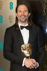 Photo Must Be Credited ©Alpha Press<br /> Linus Sandgren arrives at the EE British Academy Film Awards after party dinner at the Grosvenor House Hotel in London.