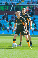 Jarrod Bowen of Hull City warms up prior to the Sky Bet Championship match at Villa Park, Birmingham<br /> Picture by Matt Wilkinson/Focus Images Ltd 07814 960751<br /> 05/08/2017