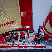 © Maria Muina I MAPFRE: Early offshore training testing with Dongfeng.