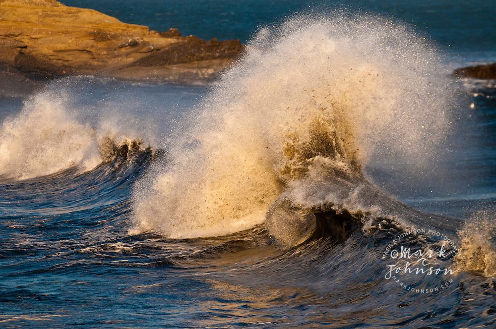 Wild & windy waves at Punto San Carlos, Baja California, Mexico