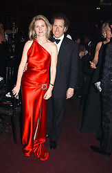 VISCOUNT & VISCOUNTESS LINLEY at the Russian Rhapsody Gala dinner concert held at The Royal Albert Hall, London on 11th April 2005.  <br />