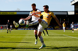 Andrew Taylor of Bolton Wanderers and Ryan Taylor of Port Vale  - Mandatory by-line: Matt McNulty/JMP - 22/04/2017 - FOOTBALL - Vale Park - Stoke-on-Trent, England - Port Vale v Bolton Wanderers - Sky Bet League One