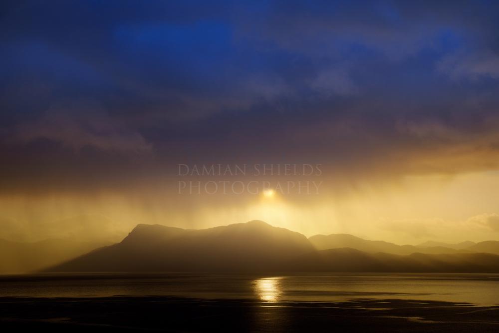 A new day breaks over Sgurr Eireagoraidh, Knoydart