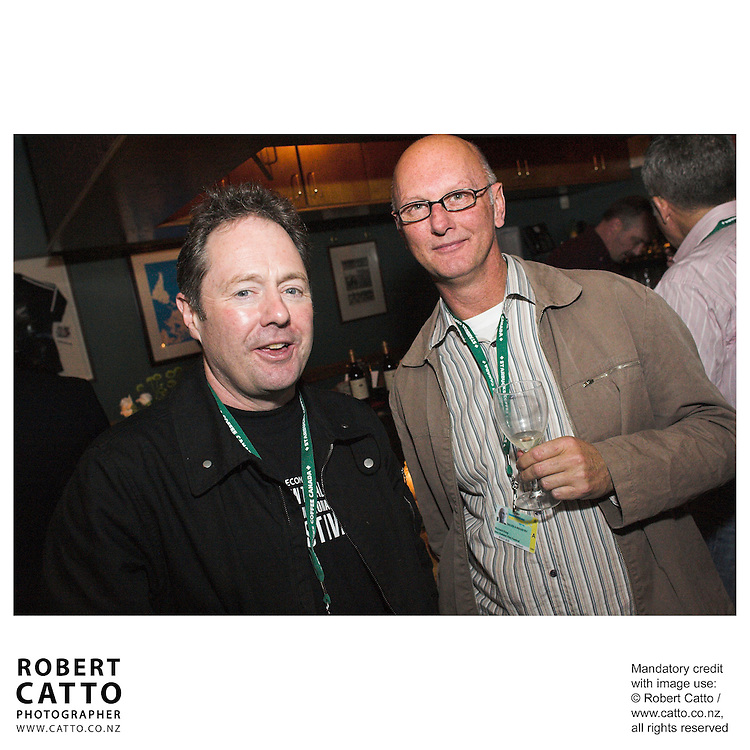 Bill Gosden;Richard King at the Toronto International Film Festival 2006 at the Shotover Bar, Yorkville, Toronto, Ontario, Canada.