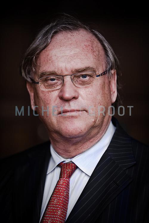 Cees de Bruin, zakenman (miljardair uit Quote 500) uit Rotterdam en CEO van Indofin, dat bedrijven opkoopt en weer verkoopt