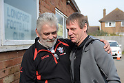 GLOUCESTERSHIRE, ENGLAND – MARCH 12: Stuart Pearce makes his debut for non-league Longford AFC as part of the #directfix campaign by Direct Line. Manager Nick Dawe meets Stuart Pearce