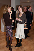 JULIET TOLLEMACHE; MARINA BOND, Bonhams Auction house hosts festive drinks to preview the first phase of the reconstruction of its Mayfair Headquarters - due for completion in 2013.<br /> Bonhams, 101 New Bond Street, London, 19 December 2011.
