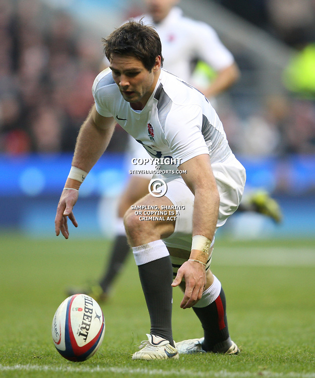 LONDON, ENGLAND - NOVEMBER 27, Ben Foden during the End of Year tour match between England and South Africa at Twickenham Stadium on November 27, 2010 in London, England<br /> Photo by Steve Haag / Gallo Images