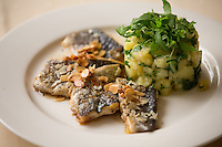Zagreb, Croatia- May 7, 2015: Butter-seared trout fillet and almond slices at Bistro Fotic, a restaurant that specializes in traditional Croatian fare. CREDIT: Chris Carmichael for The New York Times
