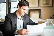 Architect, Nick Groch Portrait
