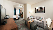 A newly remodeled Junior Suite room at DoubleTree West Palm Beach, Florida.  Photography by Jeffrey A McDonald at DoubleTree West Palm Beach, Florida.  Photography by Jeffrey A McDonald