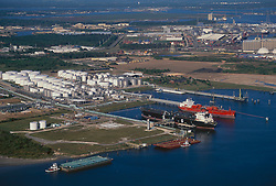 Aerial view of the Port of Houston