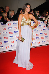 Amanda Byram at the National Television Awards held in London on Wednesday, 25th January 2012. Photo by: i-Images
