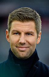 31.03.2018, Allianz Arena, Muenchen, GER, 1. FBL, FC Bayern Muenchen vs Borussia Dortmund, 28. Runde, im Bild Vor Spielbeginn: Thomas Hitzlsperger TV-Experte // during the German Bundesliga 28th round match between FC Bayern Munich and Borussia Dortmund at the Allianz Arena in Muenchen, Germany on 2018/03/31. EXPA Pictures &copy; 2018, PhotoCredit: EXPA/ Eibner-Pressefoto/ Weber<br /> <br /> *****ATTENTION - OUT of GER*****