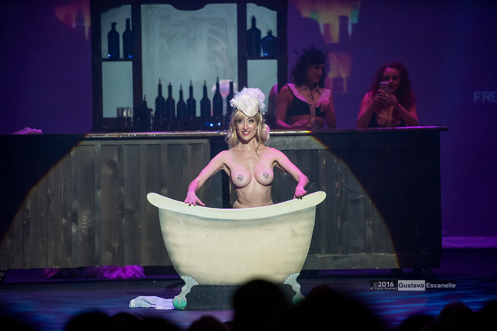 Producer Trixie Minx, best known for her burlesque shows, continues to push the creative boundaries of the traditional tease in this newest production. Inspired by New Orleans&rsquo; own Tales of the Cocktail at the Orpheum Theater, New Orleans on Saturday, July 23, 2016.<br /> <br /> #TrixieMinx<br /> #CocktailCabaret<br /> #OrpheumTheaterNewOrleans<br /> #Cabaret<br /> #NOLA