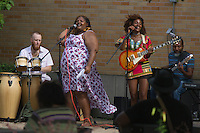 The 2016 George Franklin Memorial Concert Series held its second concert of the series this Sunday with reggae / Soul singer Koku Gonza and her band. The concert was held in Nichols Park located at 1355 E. 53rd Street. The next performance will be the R &amp; B group the McDowell Brothers on August 7th.  <br /> <br /> Please 'Like' &quot;Spencer Bibbs Photography&quot; on Facebook.<br /> <br /> All rights to this photo are owned by Spencer Bibbs of Spencer Bibbs Photography and may only be used in any way shape or form, whole or in part with written permission by the owner of the photo, Spencer Bibbs.<br /> <br /> For all of your photography needs, please contact Spencer Bibbs at 773-895-4744. I can also be reached in the following ways:<br /> <br /> Website &ndash; www.spbdigitalconcepts.photoshelter.com<br /> <br /> Text - Text &ldquo;Spencer Bibbs&rdquo; to 72727<br /> <br /> Email &ndash; spencerbibbsphotography@yahoo.com