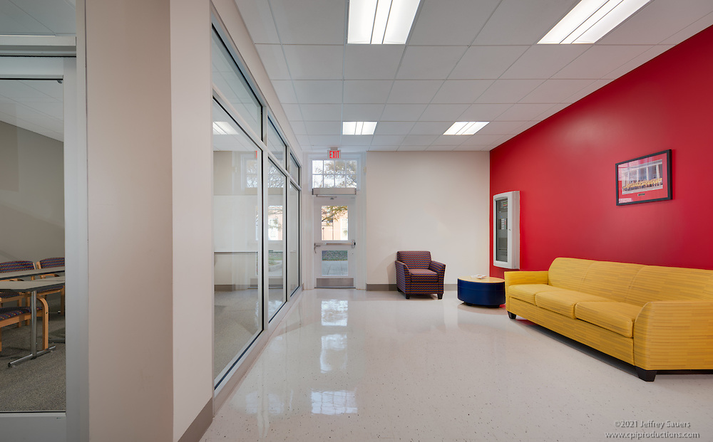 Interior Image Of Cambridge Hall Dormatory At University Maryland College Park By Jeffrey Sauers