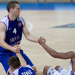 20090909: Basketball - Serbia vs Great Britain at Eurobasket 2009, Group C, Warsaw, Poland