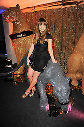 RACHEL STEVENS at a party to celebrate the Mulberry Autumn Winter 2010 collection held at The Orangery, Kensington Palace, London on 21st February 2010.