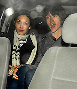 14.11.2007. LONDON<br /><br />ARCTIC MONKEYS FRONTMAN ALEX TURNER GIRLFRIEND ALEXA CHUNG LEAVING PAPER NIGHT CLUB IN SOHO, LONDON, UK.<br /> <br /> BYLINE: EDBIMAGEARCHIVE.CO.UK<br /> <br /> *THIS IMAGE IS STRICTLY FOR UK NEWSPAPERS AND MAGAZINES ONLY*<br /> *FOR WORLD WIDE SALES AND WEB USE PLEASE CONTACT EDBIMAGEARCHIVE - 0208 954 5968*