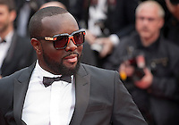 Rapper Maitre Gims  at the gala screening for the film The BFG at the 69th Cannes Film Festival, Saturday 14th May 2016, Cannes, France. Photography: Doreen Kennedy
