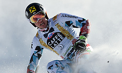 18.12.2016, Grand Risa, La Villa, ITA, FIS Weltcup Ski Alpin, Alta Badia, Riesenslalom, Herren, 2. Lauf, im Bild Marcel Hirscher (AUT, 1. Platz ) // Race Winner Marcel Hirscher of Austria reacts after his 2nd run of men's Giant Slalom of FIS ski alpine world cup at the Grand Risa in La Villa, Italy on 2016/12/18. EXPA Pictures © 2016, PhotoCredit: EXPA/ Erich Spiess