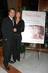 Comedian BRIAN CONLEY and his wife ANNE-MARIE at a party to celebrate the publication of 'Next To You' - Caron's Courage remembered by her mother Gloria Hunniford held on Caron's birthday at The Hilton Park Lane, London on 5th Octobe 2005.<br /><br />NON EXCLUSIVE - WORLD RIGHTS