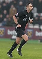 Football - 2016 / 2017 Premier League - West Ham United vs. West Bromwich Albion<br /> <br /> Referee Michael Oliver at the London Stadium.<br /> <br /> COLORSPORT/DANIEL BEARHAM