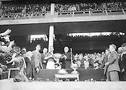 All Ireland Senior Football Championship Final, Kerry v Down, 25.09.1960, 09.25.1960, 25th September 1960, Down 2-10 Kerry 0-8, .Presentation of Sam maguire Cup to Down Captain K. Mussen, ..Referee, J Dowling (Offaly),.Captain K, Mussen,...
