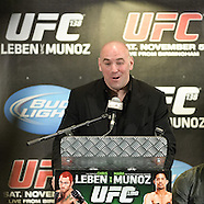 UFC 138 Post Fight Press Conference