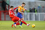 Crawley Town v Mansfield Town