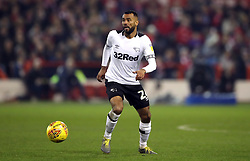 Derby County's Ashley Cole during the Sky Bet Championship match at The City Ground, Nottingham.