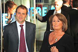 © licensed to London News Pictures. London, UK.  09/05/11. Ben Goldsmith  and Lady Annabel Goldsmith attends the London premiere of Fire in Babylon in Leicester Square . Please see special instructions for usage rates. Photo credit should read AlanRoxborough/LNP