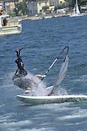Surf al Torbole sul lago di Garda,la gara Skaka Bump Jump 8 luglio 2012 © foto Daniele Mosna