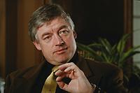 07 APR 2000, BERLIN/GERMANY:<br /> Prof. Dr. Andreas Troge, Präsident Umweltbundesamt, während einem Interview, in seinem Büro, Umweltbundesamt<br /> IMAGE: 20000407-01/01-10