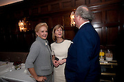 CAROLINA HERRERA; ANNA CARTER; GRAYDON CARTER, Graydon and Anna Carter host a lunch for Carolina Herrera to celebrate the ipening of her new shop on Mount St. .The Connaught. London. 20 January 2010