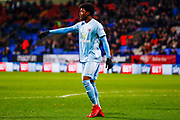Sunderland forward Josh Maja (20) in action  during the EFL Sky Bet Championship match between Bolton Wanderers and Sunderland at the Macron Stadium, Bolton, England on 20 February 2018. Picture by Simon Davies.