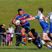 Swindale Shield rugby union game between Tawa and Northern United, played at Jerry Collins Stadium, Porirua, New Zealand on 21 April 2018.   Norths win 27-14.