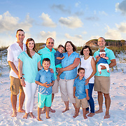 Wattigney-Hinkie Family Beach Photos