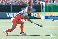 BREDA - Lauren Stam (Ned)  tijdens de finale  Nederland-Japan (8-2) van de 4 Nations Trophy dames 2018 . COPYRIGHT KOEN SUYK