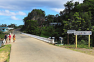 Bridge in Yumuri, Guantanamo, Cuba.