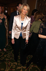 SANDRA HOWARD at the 2006 British Book Awards held at The Grosvenor House Hotel, Park lane, London on 29th April 2006.<br />