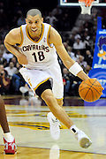 Oct. 30, 2010; Cleveland, OH, USA; Cleveland Cavaliers shooting guard Anthony Parker (18) drives the lane during the first quarter against the Sacramento Kings at Quicken Loans Arena. Mandatory Credit: Jason Miller-US PRESSWIRE