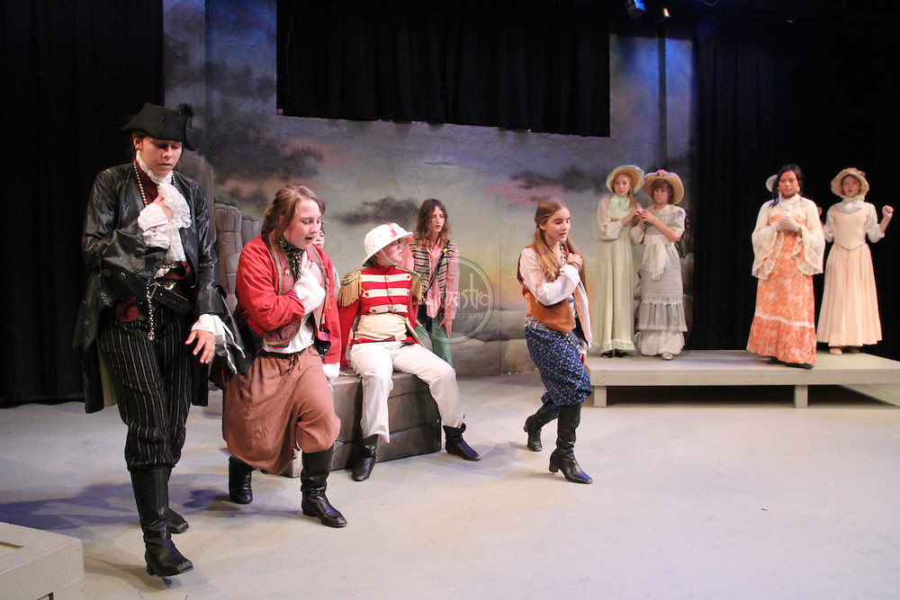 Seattle Public Theatre and Seattle Opera Pirates of Penzance opera camp.