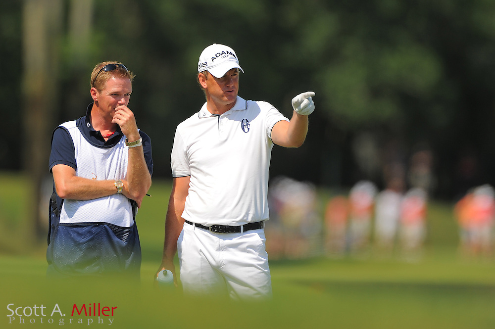 Robert Karlsson during the third round of the Players Championship at the TPC Sawgrass on May 12, 2012 in Ponte Vedra, Fla. ..©2012 Scott A. Miller..