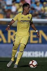 September 30, 2018 - Villarreal, Castellon, Spain - Funes Mori of Villarreal CF in action during the La Liga match between Villarreal CF and Real Valladolid at Estadio de la Ceramica on September 30, 2018 in Vila-real, Spain  (Credit Image: © David Aliaga/NurPhoto/ZUMA Press)
