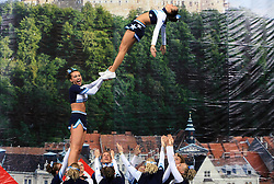 Honeybees, Germany during All Female senior at second day of European Cheerleading Championship 2008, on July 6, 2008, in Arena Tivoli, Ljubljana, Slovenia. (Photo by Vid Ponikvar / Sportal Images).